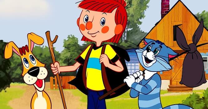 """Кино Вопрос: Как в мультфильме """"Трое из Простоквашино"""" звали собаку?"""