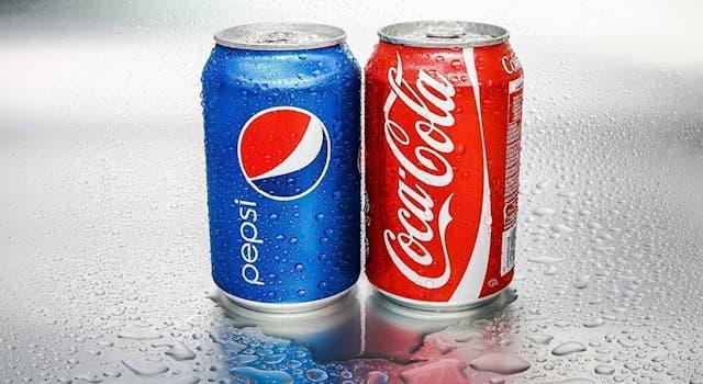 Общество Вопрос: Какой напиток был придуман раньше - Pepsi или Coca-Cola?