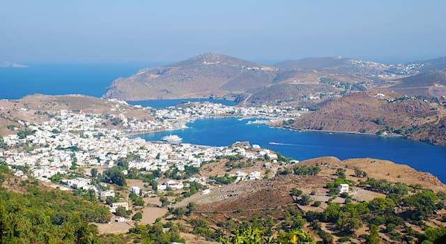 География Вопрос: Какой стране принадлежит небольшой остров Патмос?
