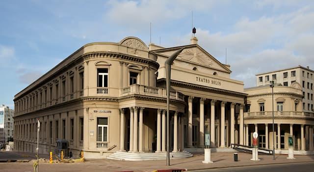 Культура Вопрос: Какой театр является старейшим театром в Уругвае и всём западном полушарии?