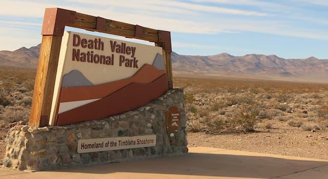 """История Вопрос: Кто назвал место, где расположен национальный парк в США, """"Долиной Смерти""""?"""