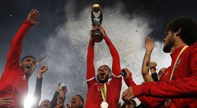 Спорт Вопрос: Лига чемпионов КАФ — ежегодный главный клубный турнир по футболу, проводимый в каком регионе?