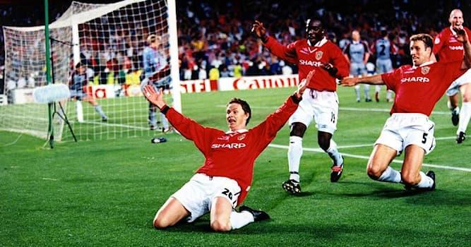 Спорт Вопрос: На какой добавленной минуте Манчестер Юнайтед забил победный гол в финале ЛЧ сезона 98/99?