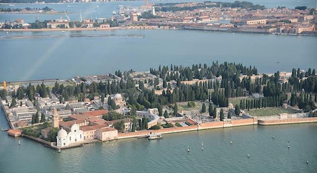 История Вопрос: На каком острове Венецианской лагуны располагается кладбище Венеции?