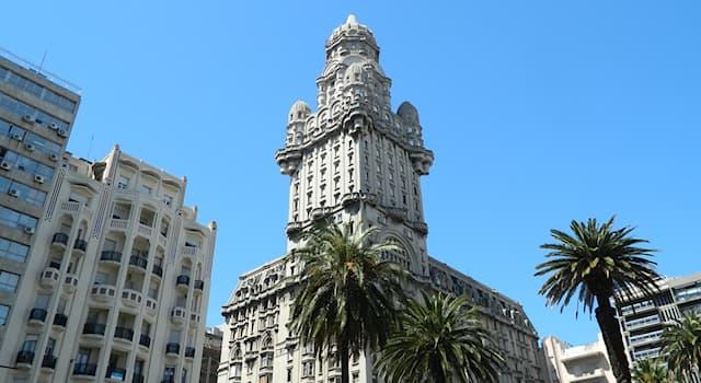 Культура Вопрос: Одной из главных достопримечательностей какого города является здание Паласио-Сальво?