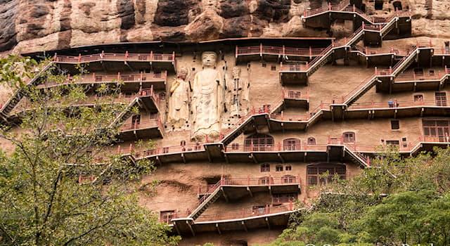 """География Вопрос: В какой стране находится """"Пшеничная гора"""" - буддийский монастырь в виде муравейника 142-х метровой высоты?"""