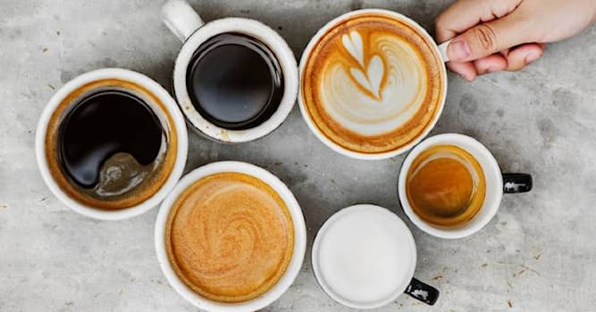 Наука Вопрос: В каком из напитков содержится больше молока?