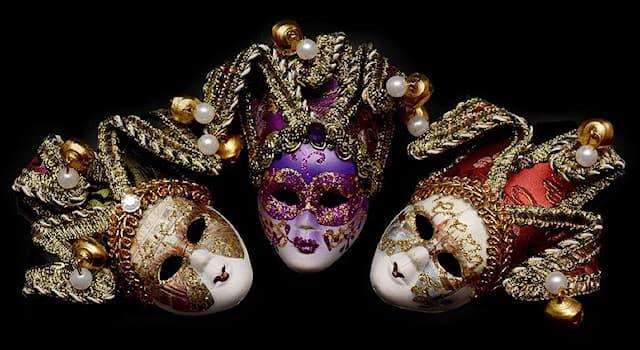История Вопрос: В каком месте замужняя женщина должна была носить маску во времена Венецианской республики?