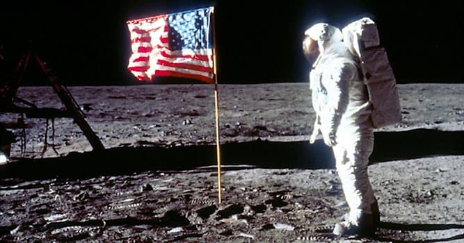 History Trivia Question: Which American astronaut was believed to have written their daughter's initials on the moon?