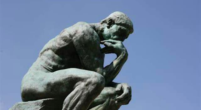 Culture Trivia Question: Which writer is thought to be the inspiration for Rodin's famous sculpture 'The Thinker'?